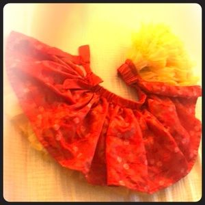 😍Belle silky ruffled tutu skirt 😍